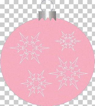 Christmas Ornament Pink M RTV Pink PNG