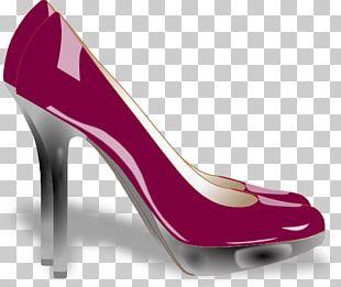 High-heeled Shoe Court Shoe PNG