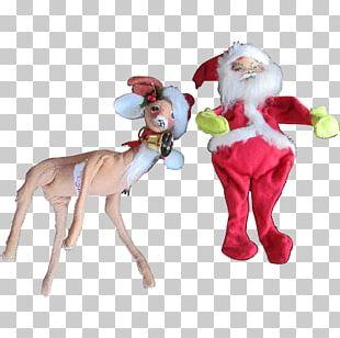 Reindeer Animal Figurine Christmas Ornament PNG