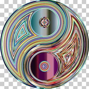 Yin And Yang Drawing Psychedelia PNG