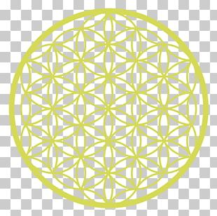 Overlapping Circles Grid Graphics Symbol Sacred Geometry