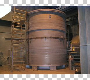 Silo Steel Cylinder Storage Tank Pipe PNG