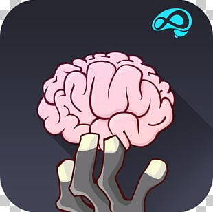 Human Brain Computer Icons Nervous System Cognitive Training PNG