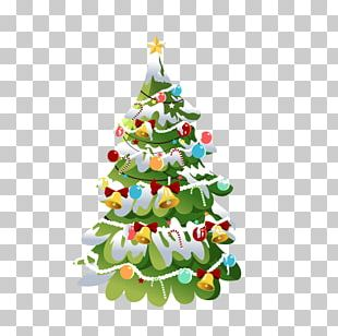 New Year Santa Claus Christmas Tree Desktop PNG