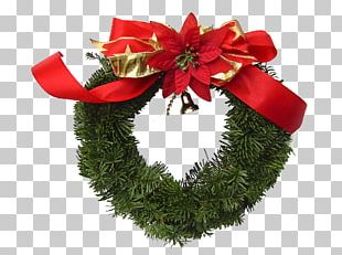 Wreath Christmas Flower Garland Floristry PNG