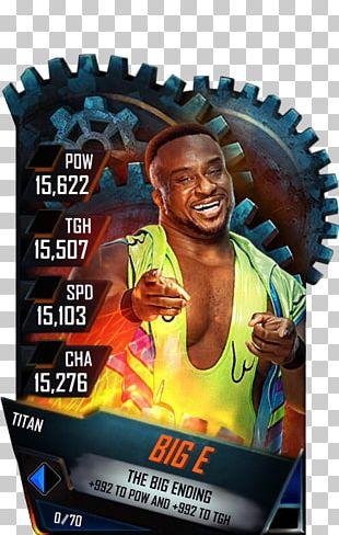 Dave Finlay SummerSlam WWE SuperCard WWE Raw PNG