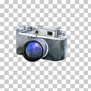 Digital Camera Watercolor Painting Photographer PNG