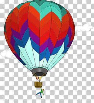 Hot Air Balloon Drawing Pixel Art PNG