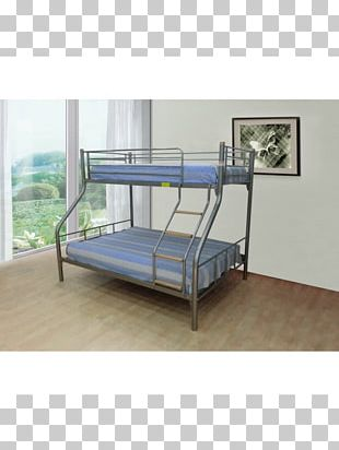 Bed Frame Bunk Bed Mattress Couch PNG