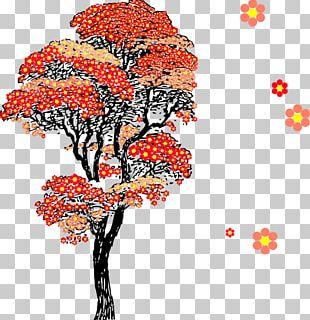 Cherry Blossom Tree Flower PNG