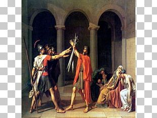 Oath Of The Horatii The Death Of Marat Painting The Coronation Of Napoleon 西洋服装史 PNG