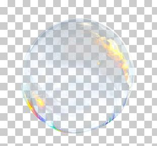 Soap Bubble Speech Balloon PNG