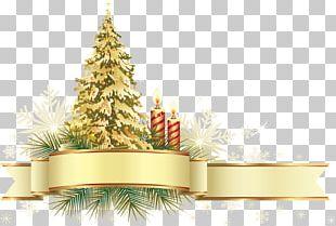 Christmas Decoration Christmas Ornament Gold Christmas Tree PNG