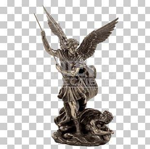 Saint Michael Fighting The Dragon Cherub Archangel PNG