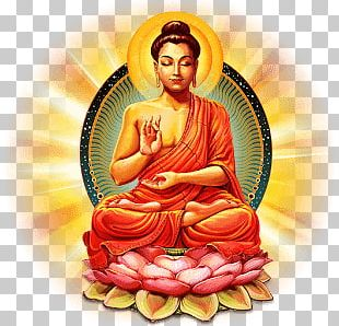 Colourful Buddha PNG