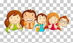 Child Border Crossing Card Illustration PNG