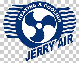 Furnace JERRY AIR HEATING & COOLING LLC Logo HVAC Air Conditioning PNG