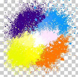 Watercolor Painting Ink PNG
