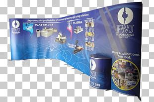 Display Stand Banner Exhibition Brand PNG