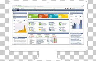NetSuite Dashboard Customer Relationship Management Enterprise Resource Planning Computer Software PNG