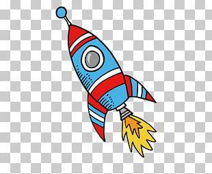 Rocket Drawing PNG