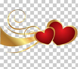 Valentine's Day Heart Birthday PNG