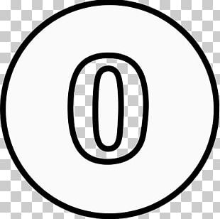 White Circle Number Brand PNG