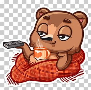 Chocolate Brownie Sticker Telegram VKontakte PNG