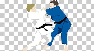 Judo Illustration PNG