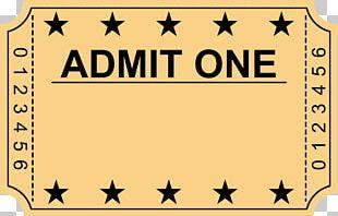 Wedding Invitation Ticket Cinema Film PNG