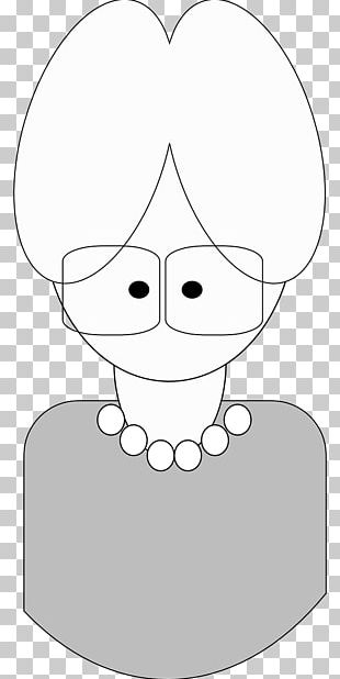 Drawing Cartoon Black And White PNG