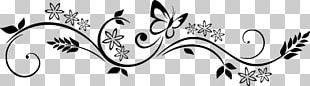 Sticker Frieze Wall Decal Flower Decorative Arts PNG