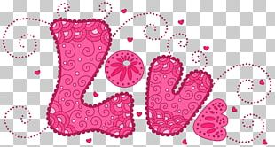 Love Heart Pattern PNG