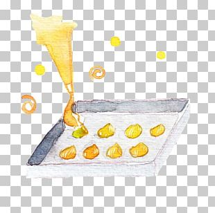 Hand-painted Crowded Butter PNG