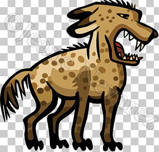 Striped Hyena African Wild Dog Spotted Hyena Brown Hyena PNG