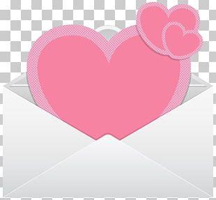 Paper Envelope Heart PNG