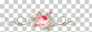 Beach Rose Paper Flower PNG