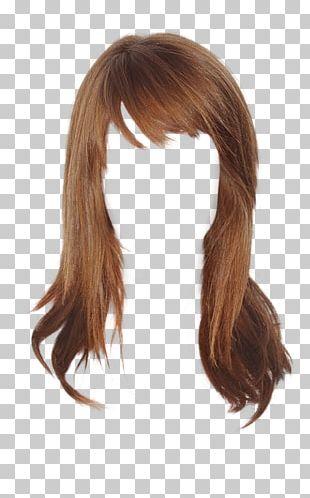 Brown Hair Wig Hairstyle Hair Coloring PNG