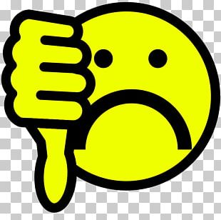 Thumb Signal Smiley PNG