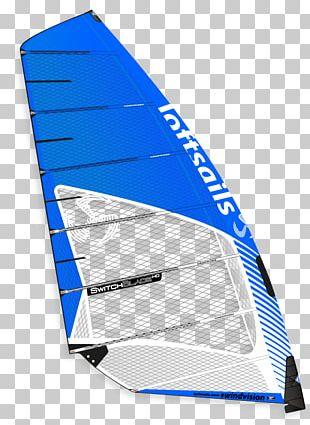 Windsurfing Sail Switchblade Neil Pryde Ltd. Mast PNG
