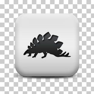 Stegosaurus Tyrannosaurus Silhouette Triceratops Dinosaur PNG