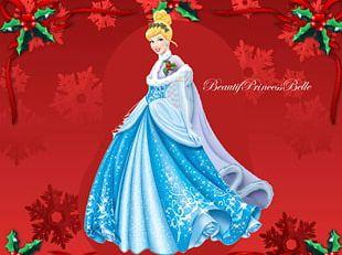 Cinderella Belle Disney Princess Christmas The Walt Disney Company PNG