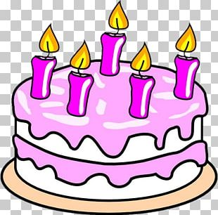 Birthday Cake Chocolate Cake Frosting & Icing PNG