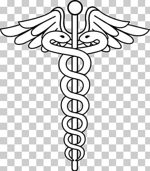 Caduceus As A Symbol Of Medicine Staff Of Hermes Logo PNG