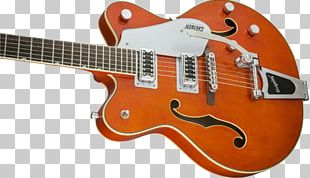 Gretsch Semi-acoustic Guitar Electric Guitar Musical Instruments PNG