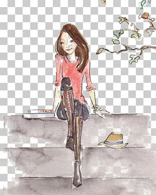 Drawing Watercolor Painting Fashion Illustration Illustration PNG