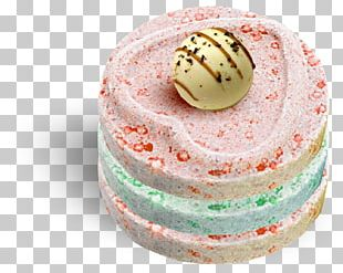 Ice Cream Macaroon Torte Cake PNG