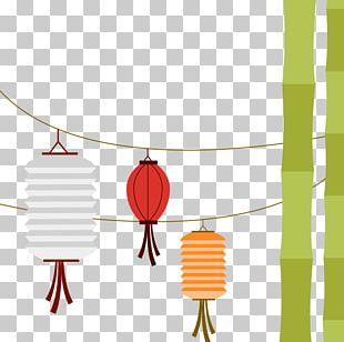 Mid-Autumn Festival Mooncake Lantern PNG