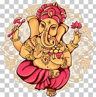 Ganesha Shiva Ganesh Chaturthi Illustration PNG