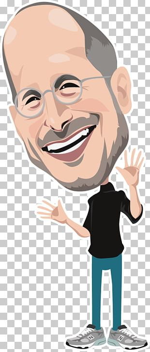 Steve Jobs Apple Cartoon Facial Expression PNG